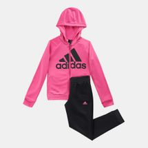 adidas Kids' Hooded Track Suit (Older Kids)