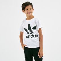 adidas Originals Kids' Marble Cropped T-Shirt (Younger Kids)