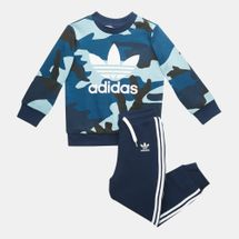 adidas Originals Kids' Camouflage Sweatshirt And Pants Set (Baby and Toddler)