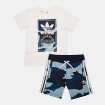 adidas Originals Kids' Camouflage T-Shirt Set (Younger Kids)