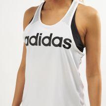 adidas Women's D2M Logo Tank Top, 1470387