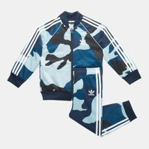 adidas Originals Kids' SST Camouflage Track Suit (Baby and Toddler)