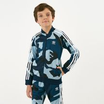 adidas Originals Kids' SST Camouflage Track Jacket (Older Kids)