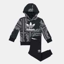 adidas Originals Kids' Bandana Hoodie Set (Younger Kids)