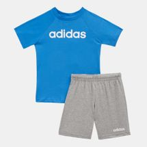 adidas Kids' Linear Summer Set (Baby & Toddler), 1482734