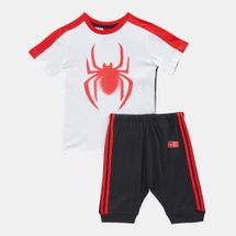 adidas Kids' Marvel Spider-Man Summer Set (Baby and Toddler)
