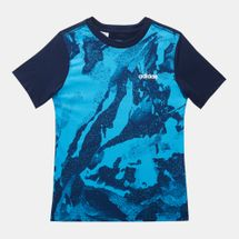 adidas Kids' Allover Print T-Shirt (Older Kids)