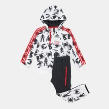 adidas Kids' Marvel Spider-Man Jogger Set (Baby and Toddler)