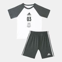 adidas Kids' Logo Summer Set (Baby and Toddler)