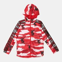 adidas Kids' Marvel Spider-Man Windbreaker Jacket (Younger Kids)