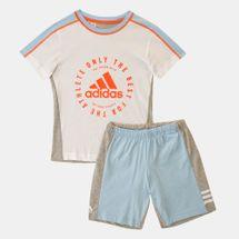 adidas Kids' Print Summer Set (Baby and Toddler)