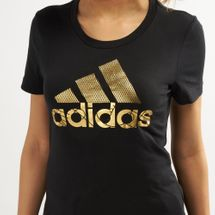 adidas Women's Badge of Sports Foil T-Shirt, 1470399