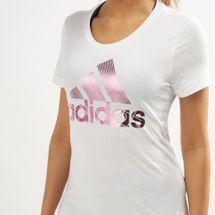 adidas Women's Badge of Sports Foil T-Shirt, 1470403