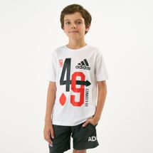 adidas Kids' Youth Training Anniversary T-Shirt (Older Kids)