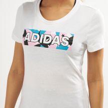 adidas Women's AOP Pack 2 T-Shirt, 1470395