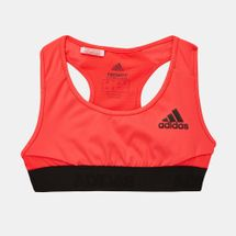 adidas Kids' Alphaskin Sports Bra (Older Kids)