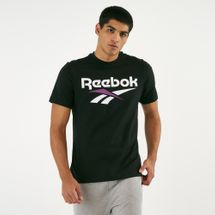 Reebok Men's Classics Vector T-Shirt Black