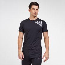 adidas Men's Alphaskin 2.0 Sport Fitted T-Shirt