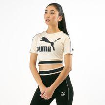 PUMA Women's Revolt Cropped T-Shirt