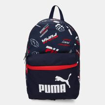 PUMA Kids' Phase Small Backpack - Blue, 1527910