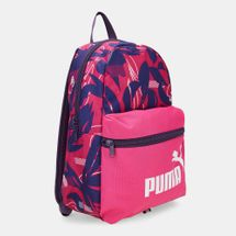 PUMA Kids' Phase Small Backpack - Purple, 1527916