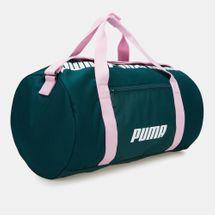 PUMA Women's Core Barrel Bag - Green, 1497665