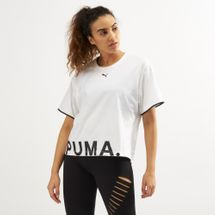 PUMA Women's Chase Cotton T-Shirt