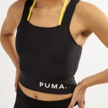 PUMA Women's Chase Crop Top Puma Black, 1470485