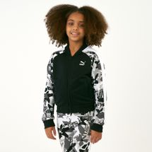 PUMA Kids' Classics T7 All Over Print Jacket (Older Kids)