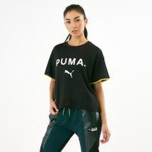 PUMA Women's Chase Mesh T-Shirt