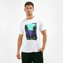 PUMA Men's Palms Photo T-Shirt