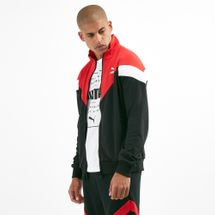 PUMA Men's Iconic MCS Track Mesh Jacket