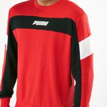 PUMA Men's Rebel Crew TR Sweatshirt, 1533409