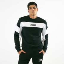 PUMA Men's Rebel Crew TR Sweatshirt