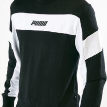 PUMA Men's Rebel Crew TR Sweatshirt, 1533405