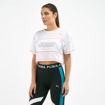 PUMA Women's Modern Sports Cropped T-Shirt