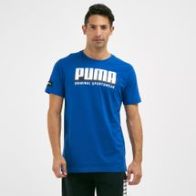 PUMA Men's Athletics Graphic Surf The Web T-Shirt