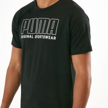 PUMA Men's Athletics Big Logo T-Shirt, 1496421