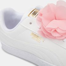 PUMA Kids' Basket Flower Shoe (Older Kids), 1530037