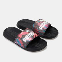 PUMA Women's Popcat Flower Power Slides, 1500905