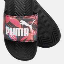 PUMA Women's Popcat Flower Power Slides, 1500907