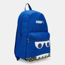 PUMA Kids' Monster Surf The Web Backpack (Younger Kids) - Blue, 1553931