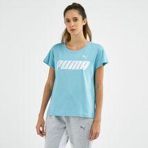 PUMA Women's Modern Sport Graphic Logo T-Shirt