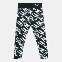 PUMA Kids' Alpha Allover Prints Leggings (Older Kids)