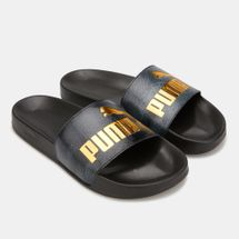 PUMA Women's Leadcat Snake Lux Slides