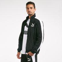 PUMA Men's Pinstripe T7 Track Jacket