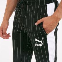 PUMA Men's Pinstripe T7 Track Pants, 1725032