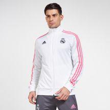 adidas Men's Real Madrid 3-Stripes Track Jacket