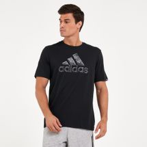 adidas Men's Essentials Hyperreal Logo T-Shirt