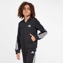 adidas Kids' 3-Stripes Hoodie (Older Kids)